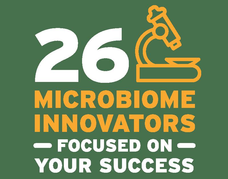 26 Microbiome Innovators